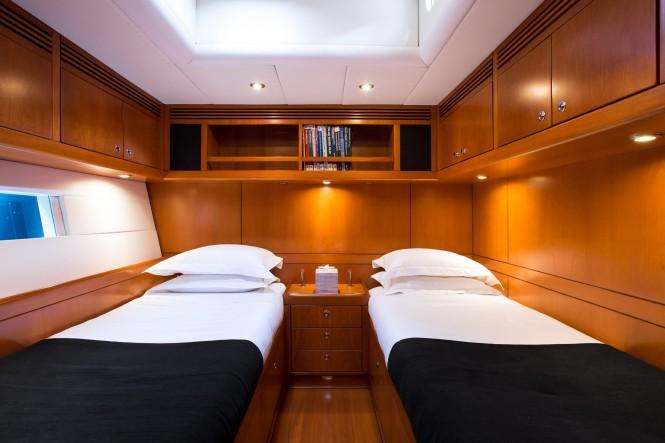 Twin cabin inside SY RAPTURE
