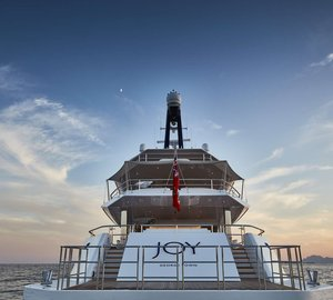 Luxury Superyacht Joy in Dubai