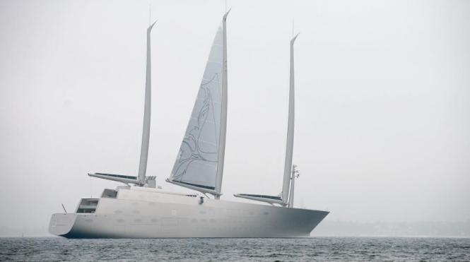 Sailing Yacht a by @kielisreal