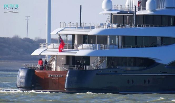 Superyacht Barbara. Photo by Dutch Yachting