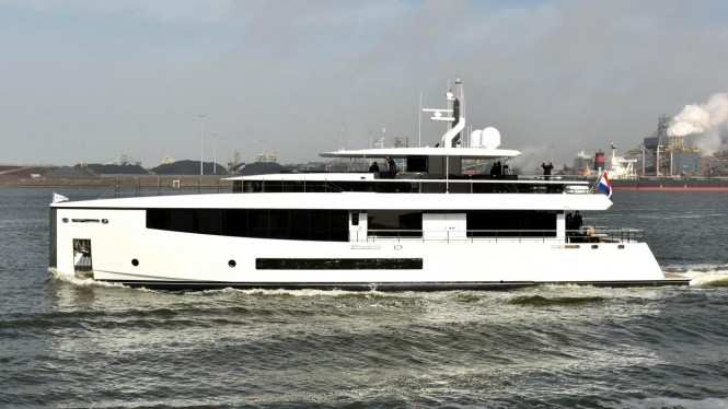Feadship Motor Yacht Letani. photo credit Jan Ramaker/DutchYachting
