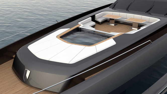 55-metre motor yacht CINQUANTACINQUE by CORGO YACHT DESIGN & MARTINEZ DESIGN - exterior