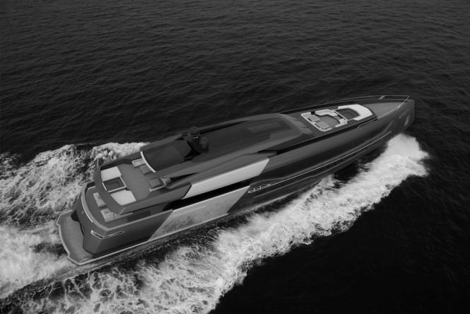 55-metre superyacht CINQUANTACINQUE by CORGO YACHT DESIGN & MARTINEZ DESIGN