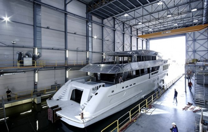 ALIDA Yacht - Photo by Dick Holthuis