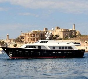 Luxury yacht Harmonya is now available for Mediterranean charters