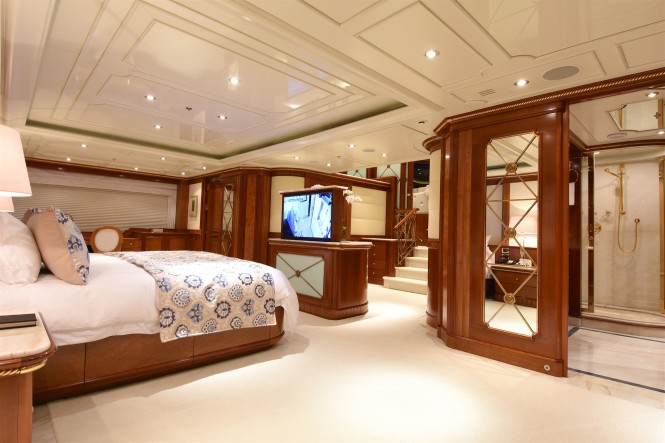 Benetti yacht LADY MICHELLE - Master suite
