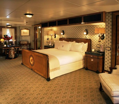 Classic yacht TALITHA - Master suite