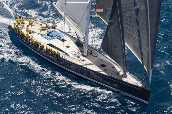 Class C Freya won all her races during the Loro Piana Caribbean Superyacht Regatta & Rendezvous 2017.