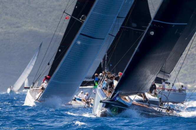Fierce competition in the Grand Prix Mini Maxi division - Rolex Swan Cup Caribbean 2017