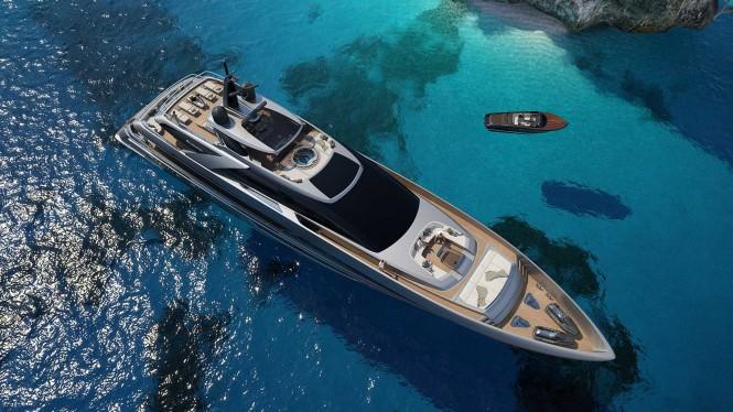 First 50m superyacht Riva