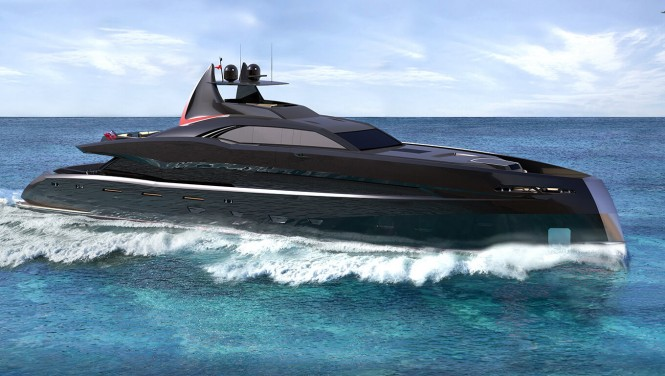 Icon Yacht - The Gotham Project
