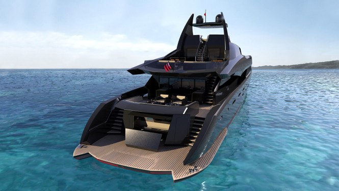 Icon Yacht - The Gotham Project - aft