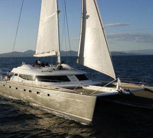 Charter luxury yacht Allures in the Western Mediterranean this summer season