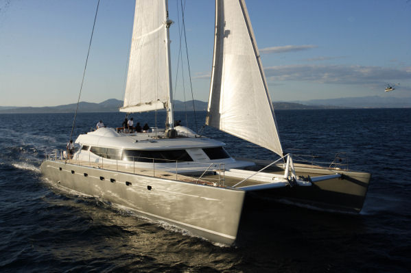 Luxury catamaran ALLURES from Compositeworks