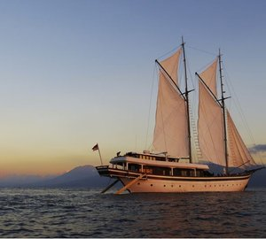 Charter through vivid Indonesian landscapes aboard luxury phinisi Zen