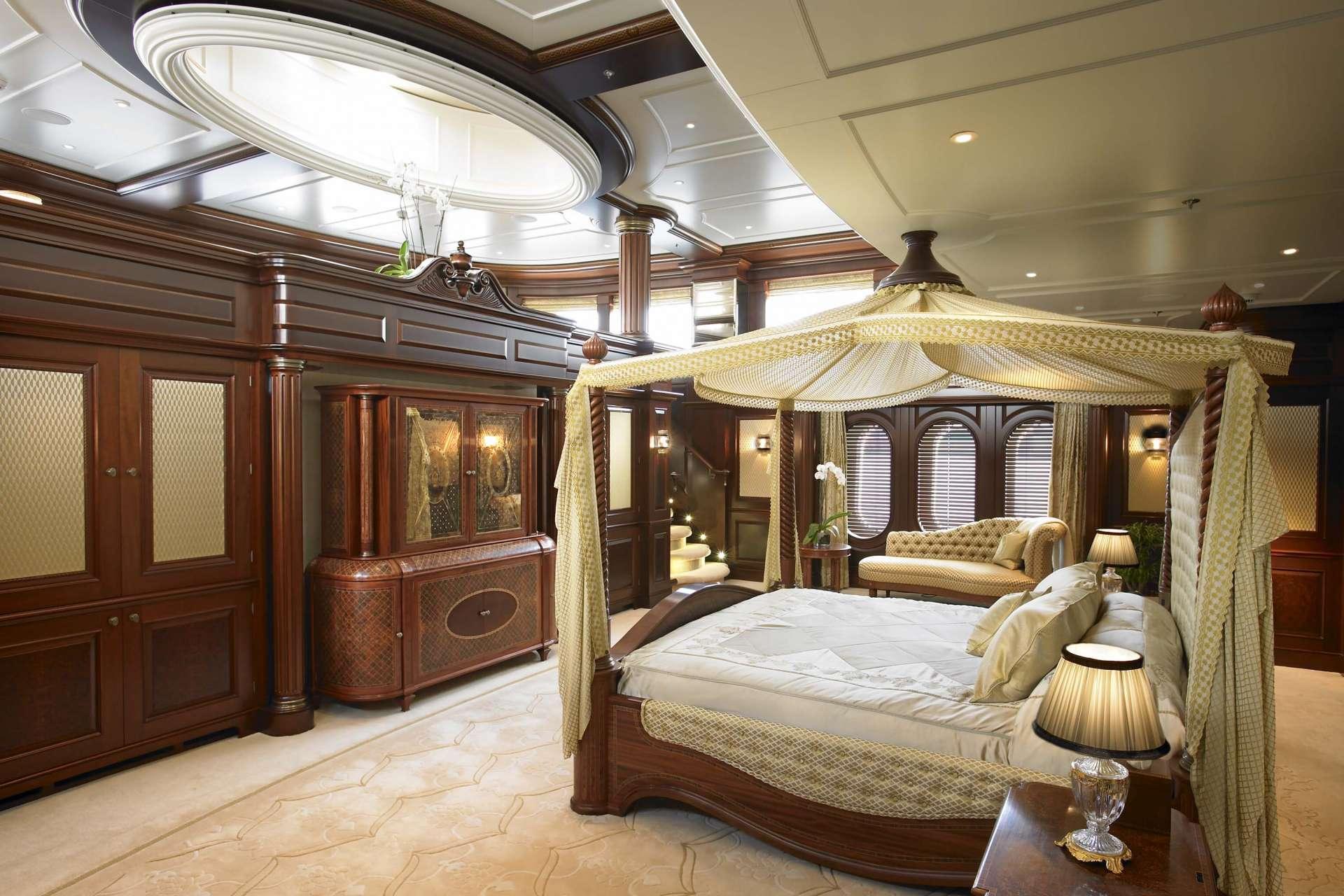 Luxury Yacht Anna Master Suite Photo Credit Feadship Yacht Charter Superyacht News