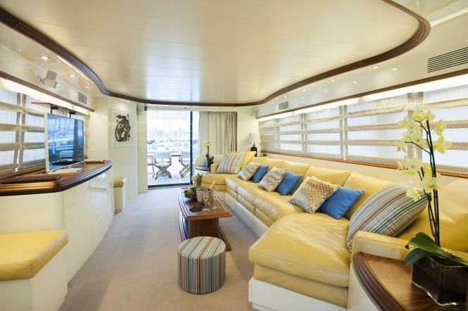 Luxury yacht CENTO - Salon