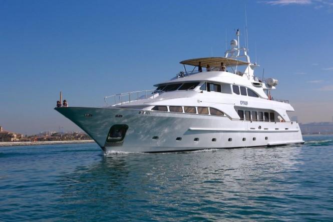 Luxury yacht DXB - Benetti