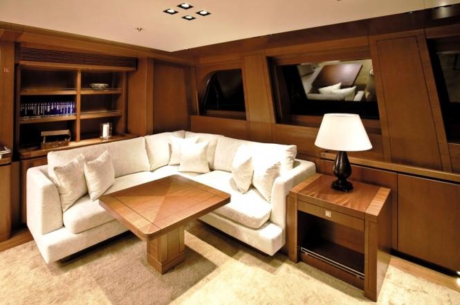 Luxury yacht ETHEREAL - Main salon