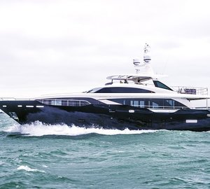 Luxury yacht Kohuba ready for event charters in the Mediterranean