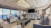 Luxury yacht THUMPER - Main salon Photo credit Sunseeker Yachts
