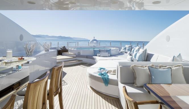 Luxury yacht TURQUOISE - Sun Deck
