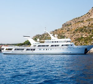 All The Reasons Why ESMERALDA is One of the Best Charter Yachts