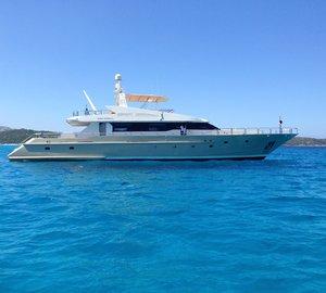 Charter the Western Mediterranean aboard superyacht Evidence