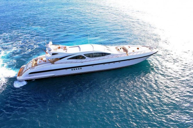 M/Y INCOGNITO built by Overmarine