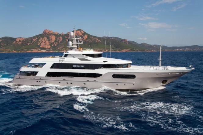 M/Y SEANNA built by Baglietto