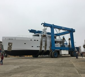 Tansu Yachts launch 38m motor yacht project LTS now named HIGHLIGHT