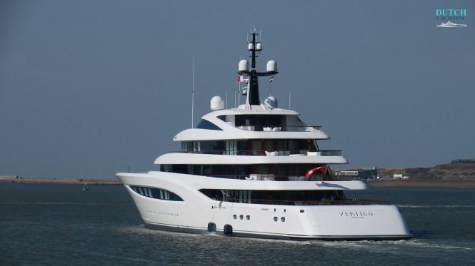 Motor Yacht Vertigo - aft view. Photo credit DutchYachting