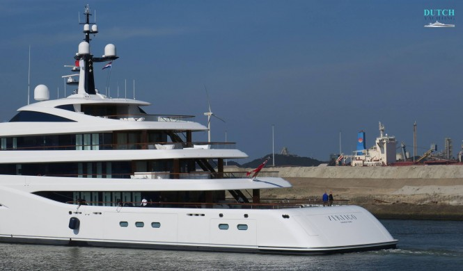 Motor Yacht Vertigo - aft. Photo credit DutchYachting