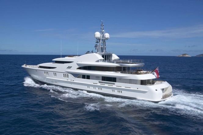 Motor yacht ANNA - photo credit Feadship