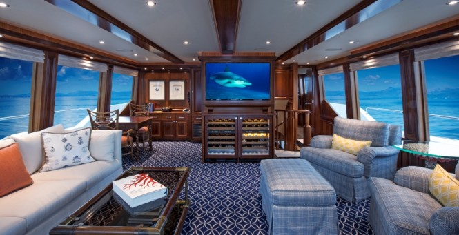 Motor yacht KEMOSABE - Skylounge