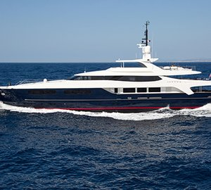 Luxury yacht Mischief available for Mediterranean charter