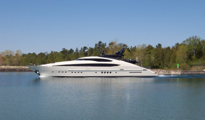 Motor yacht VANTAGE built by Palmer Johnson