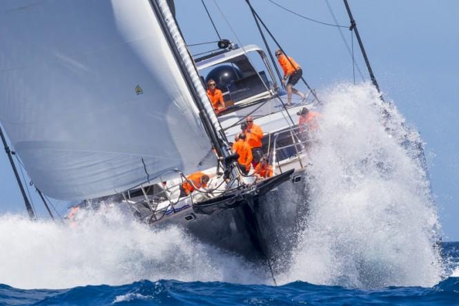 Perseus^3 won in class Class D of the Loro Piana Caribbean Superyacht Regatta & Rendezvous 2017.