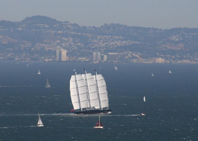 Sailing yacht MALTESE FALCON - Photo credit: Andrew Ballantyne