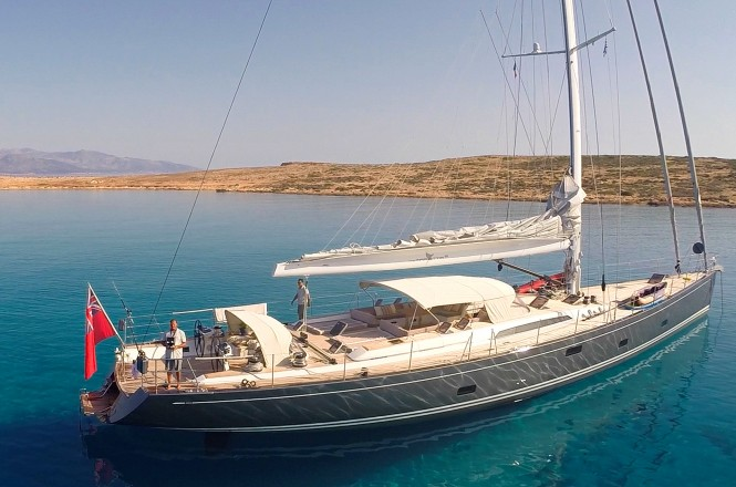 Sailing yacht MRS MARIETTA CUBE - Built by Southern Wind
