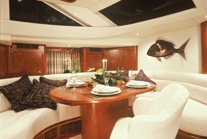 Salon Inside Luxury Yacht DANNESKJOLD