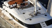 Sunpads and alfresco dining area - S/Y ALLURES