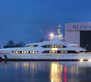 New to charter market: Superyacht ASYA available in the Western Mediterranean this July