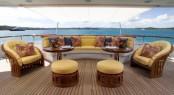 Superyacht HUNTRESS - Main deck aft