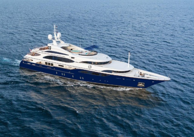 Superyacht LADY MICHELLE - Built by Benetti