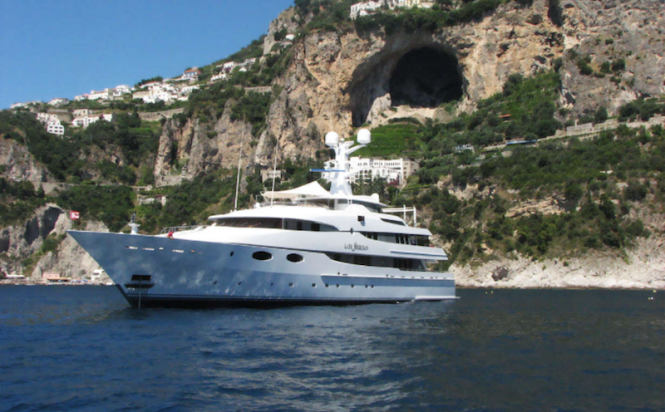 Superyacht LADY SHERIDAN. Photo credit: Abeking & Rasmussen