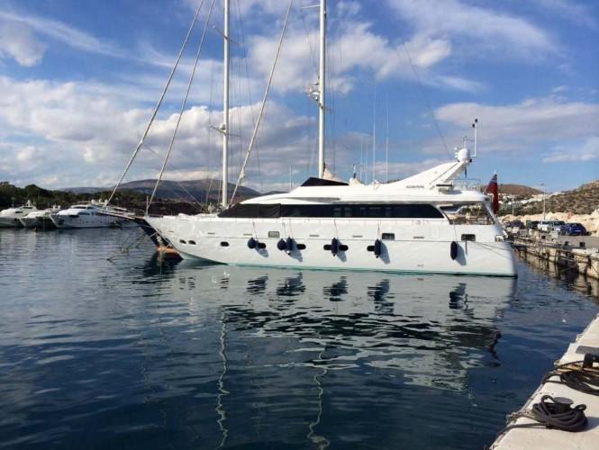Superyacht NASHIRA - Built By Cantieri Navali Lavagna