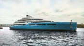 The 98 meter yacht AVIVA