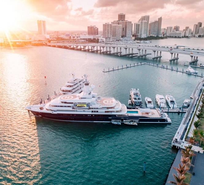 Luna in Miami. Photo by @flye_drones