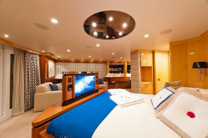 M/Y SPIRIT - Master suite